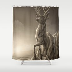 Revenge of the Nature: Guardian of the Earth Shower Curtain