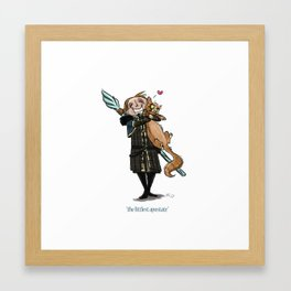 The Littlest Apostate Framed Art Print