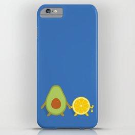 Avocado & Lemon iPhone Case