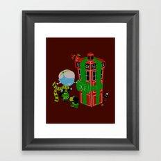 Best. Christmas. Ever. Framed Art Print