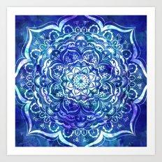 Mystical Mandala Art Print