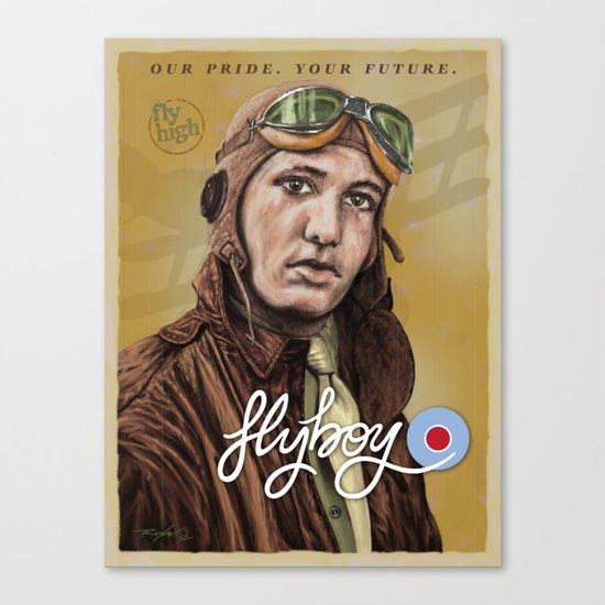flyboy Canvas Print