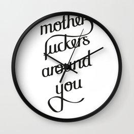 MFAY Wall Clock