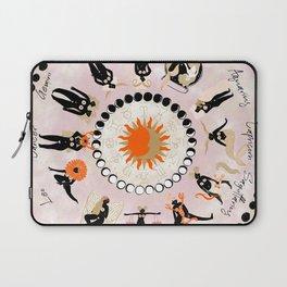 Zodiac Wheel Laptop Sleeve