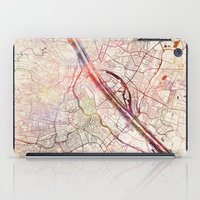 vienna iPad Cases featuring Vienna by MapMapMaps.Watercolors