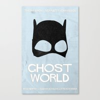 ghost world Canvas Prints featuring Ghost World by Bill Pyle