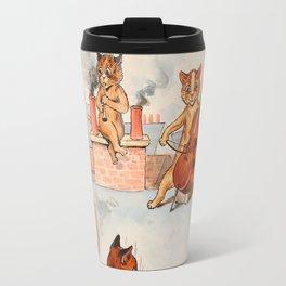 CATS ORCHESTRA - Louis Wain Cats Travel Mug