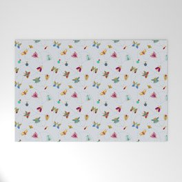Bugs n butterflies Welcome Mat