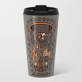 Grand Magus Summons Entity With Dark Popcorn Power Travel Mug