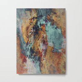 The Devil, the Angel and the Redemption Metal Print