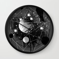 Cruel and Beautiful World Wall Clock