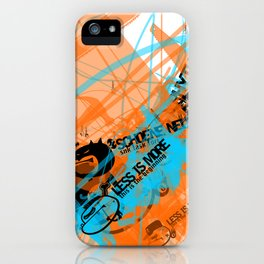 Gonzos Coded, Remixed. 2007_series01_shot11 iPhone Case