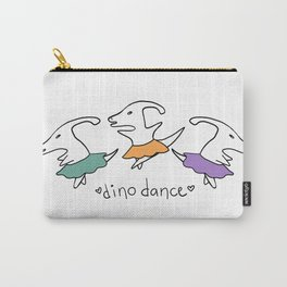 Dino Dance in Colour Carry-All Pouch
