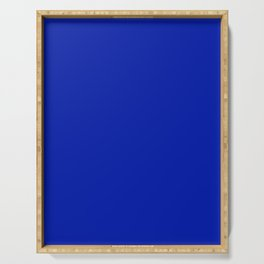 Blue (Pantone) - solid color Serving Tray