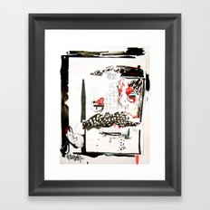 Faceboo Framed Art Print