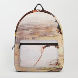 A Bad Hoss Charles Marion Russell Backpack