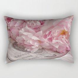Paris Peonies Rectangular Pillow