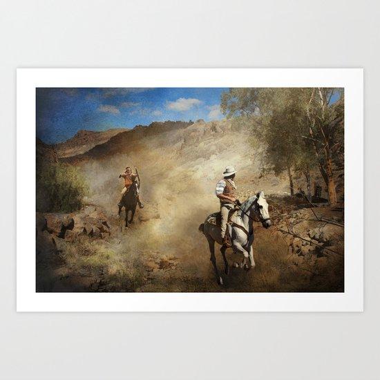Ambush Art Print