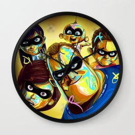 5 Top Favorite Soccer Teams to win World Cup Russia as The Incredibles 2 Wall Clock