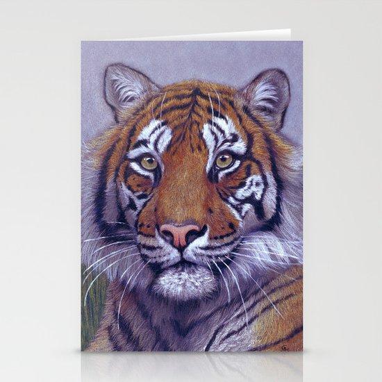 Tiger - portrait CC118 Stationery Cards