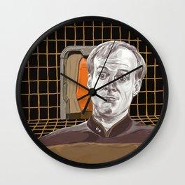 Star Trek: TNG Lt Broccoli Wall Clock