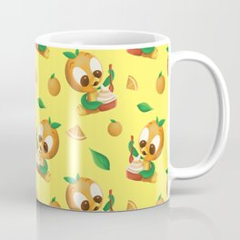 Orange Bird Citrus Swirl Coffee Mug