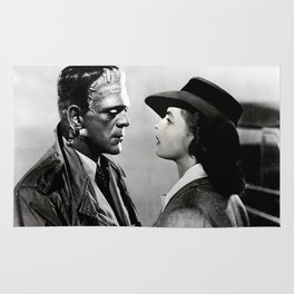 FRANKENSTEIN IN CASABLANCA Rug
