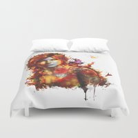 xbox Duvet Covers featuring Lara Croft by ururuty