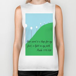 Your Word is a Lamp Biker Tank