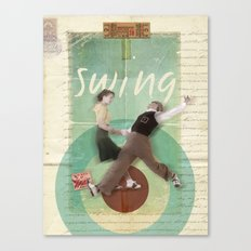 Swing Dance Canvas Print