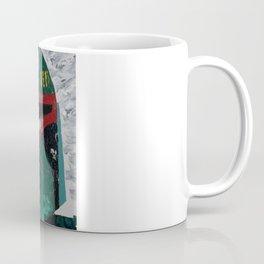Boba Fett palette knife painting Coffee Mug