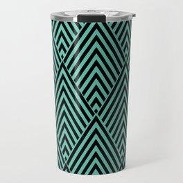 Triangle in Diamonds. Travel Mug