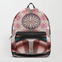 Pinwheel Hubcap in Pink Backpack