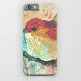 Quirky Birds iPhone Case