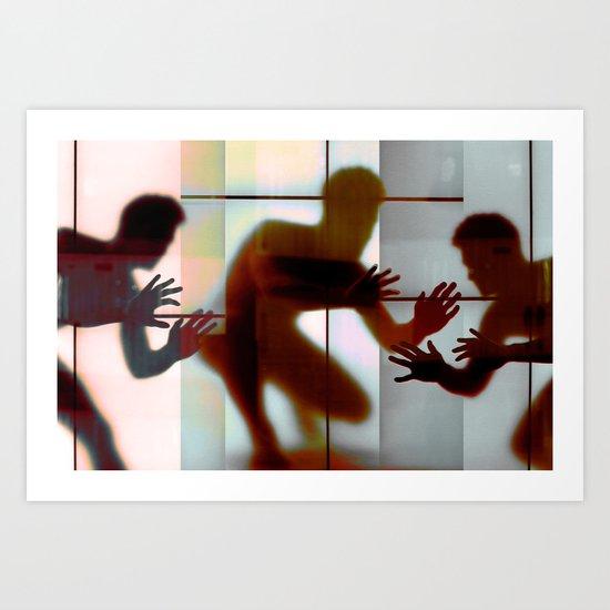 Body Language 13 Art Print