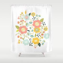 Airy GardenPillow Shower Curtain
