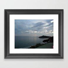 Gaeta Sea View Framed Art Print