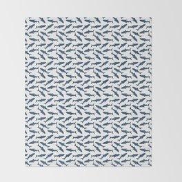 Whale Shark Pattern Throw Blanket