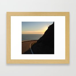 The View Around the Bend Framed Art Print
