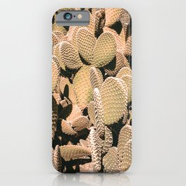 Cactus Maximalism // Vintage Bohemian Desert Photography Home Decor Summer Vibes iPhone Case