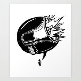 GET LOUD Art Print