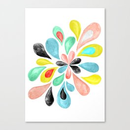 Watercolor Splash  Canvas Print