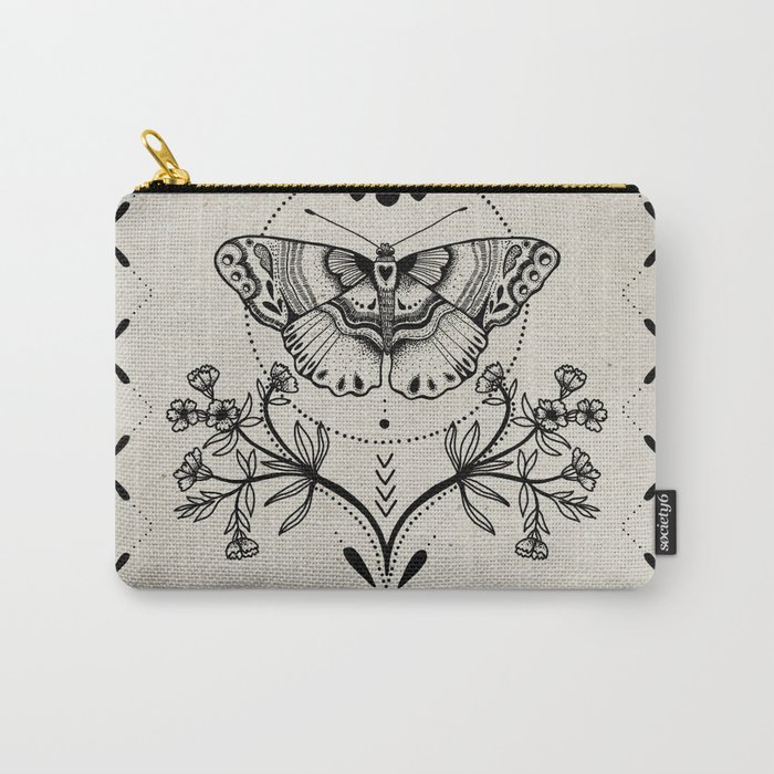 Magical Moth Carry-All Pouch
