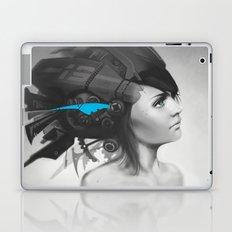 Feather Blue Laptop & iPad Skin