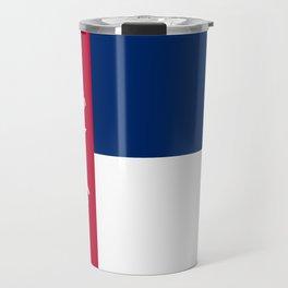 North Carolina Secession Flag Travel Mug