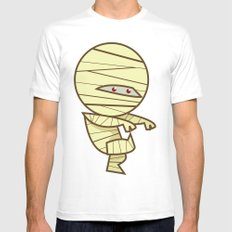 Have you seen my Mummy? White MEDIUM Mens Fitted Tee