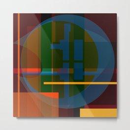 Color System  Metal Print