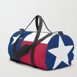 State flag of Texas Duffle Bag