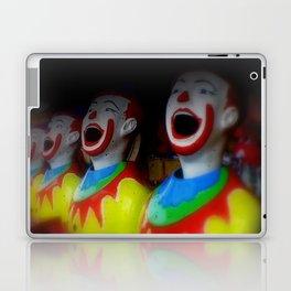 Laughing Clowns Laptop & iPad Skin