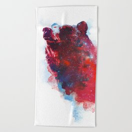 The great explorer Beach Towel